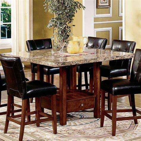 dining room set high tables best 25 high dining table set ideas on