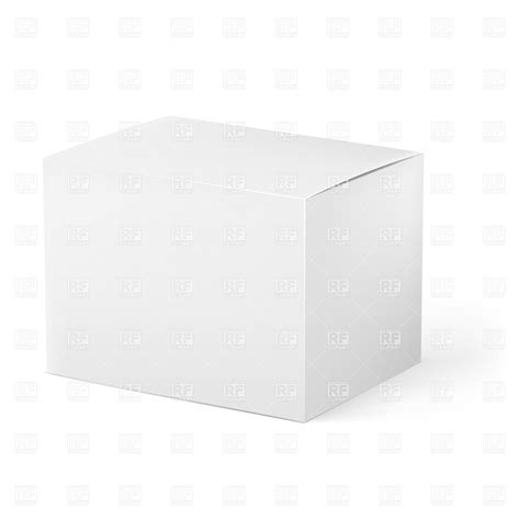 free templates for cardboard boxes white cardboard box blank template 20505 objects