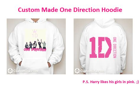 Hoodie Pink Write One Direction gallery for gt keep calm and be a directioner hoodie