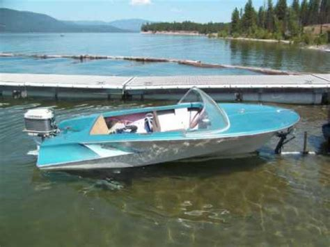 the boat on 1960 1960 pacific mariner stiletto merc 500 youtube