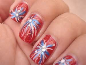 4th of july nail ideas 4th of july firecracker
