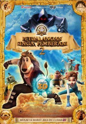film paddle pop dinosaurus petualangan singa pemberani 2 cinema 21