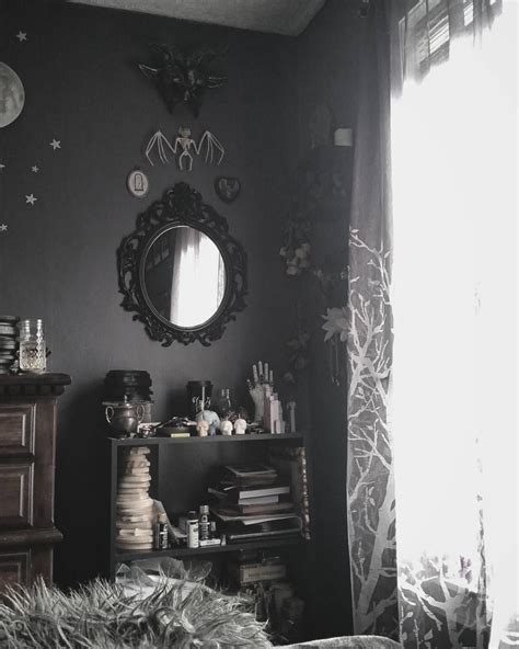 dark home decor spooky home decor gothic black skeletons on the addams