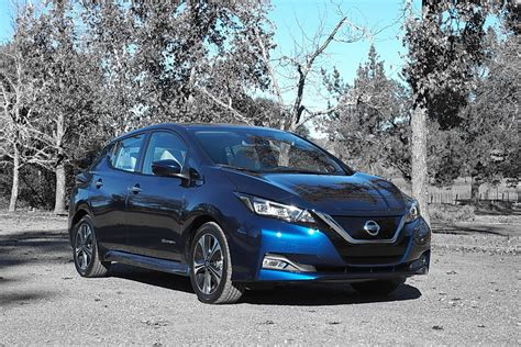 nissan range 2018 nissan leaf more refinement longer range review