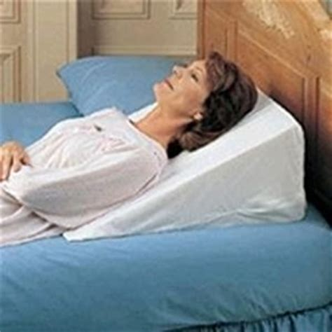 best bed wedge pillow amazon com bed wedge 7 quot foam wedge pillow good for