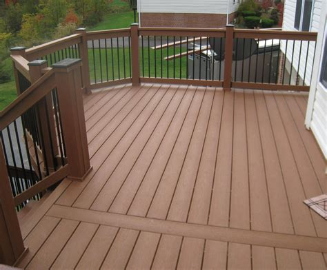 wood deck railing designs variety  railing options
