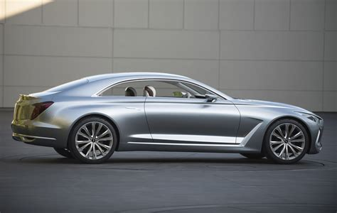 genesis coup hyundai vision g concept previews larger more luxurious
