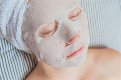 Masker Tisu masker tisu yang dihangatkan meresap lebih baik
