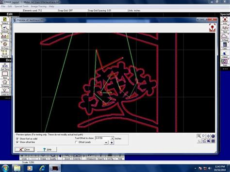 omax layout software download water cutting machine january 2011