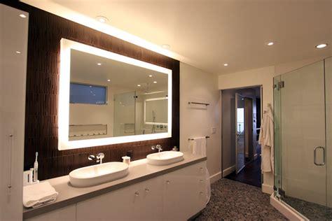 Lovely Lit Bathroom Mirror #1: Delightful-Diy-Mirror-Frame-decorating-ideas-for-Bathroom-Modern-design-ideas-with-Delightful-Back-Lit-Mirror.jpg