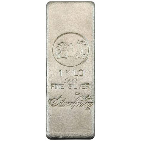 1 Kilo Silver Bar by Buy 1 Kilo Silvertowne Poured Silver Bars Silver