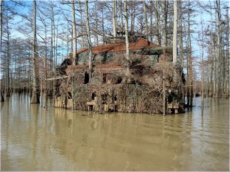 duck blind boat hide duck blind boat house quot this is from louisiana 3 stories