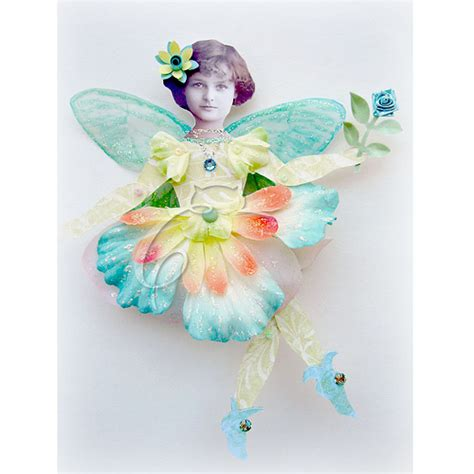 How To Make Paper Fairies - inkspired musings fairies budget paper craft and