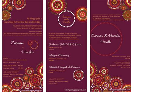 Hindu Wedding Cards Templates In by Indian Wedding Invitations Ideas How To Create Indian