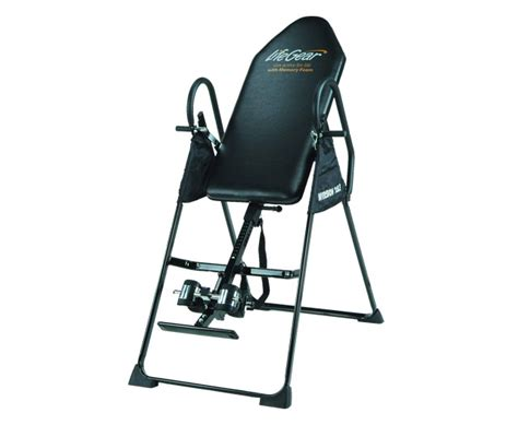 gear inversion table gear with memory foam keep