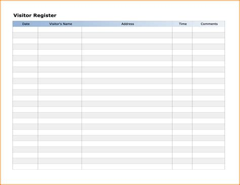 sign templates for word 7 sign in sheet template wordreference letters words