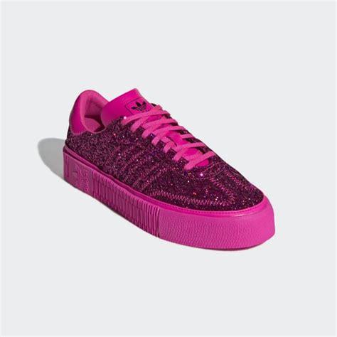 adidas sambarose shoes pink adidas  zealand