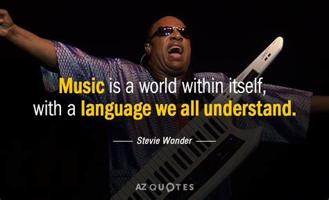 stevie  quote    world     language