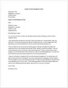 Heartfelt Resignation Letter by Resignation Letter Format Sle Courteous Heartfelt