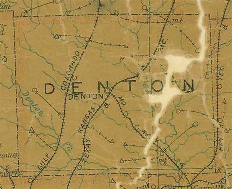 denton county texas map denton county texas