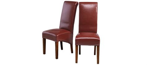 cube dining set with leather chairs cube bonded leather dining chairs pair quercus living