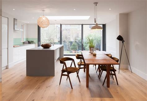 Dining Room Kitchen Knock Through Rear Extension And Knock Through Between Kitchen And
