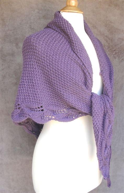 leaf pattern shawl knitting knitting pattern mable shawl ad elegant moss stitch