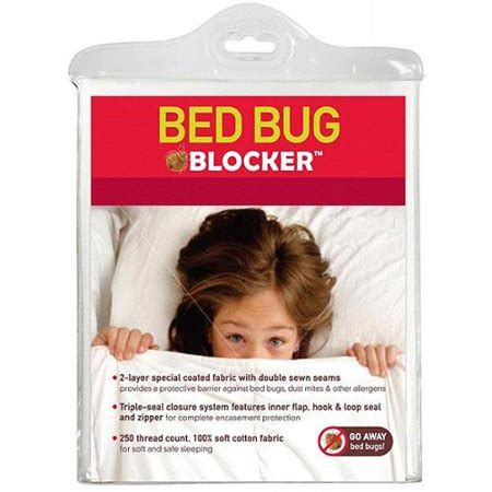 protection  bed bug blocker cotton rich mattress protector full walmartcom