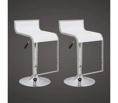 sgabelli plastica sgabelli cucina o bar tulsa design plastica abs 2 bianchi