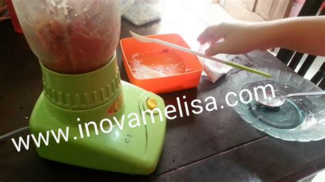 membuat es krim pondan dengan blender cara membuat bakso mudah praktis dengan blender youtube
