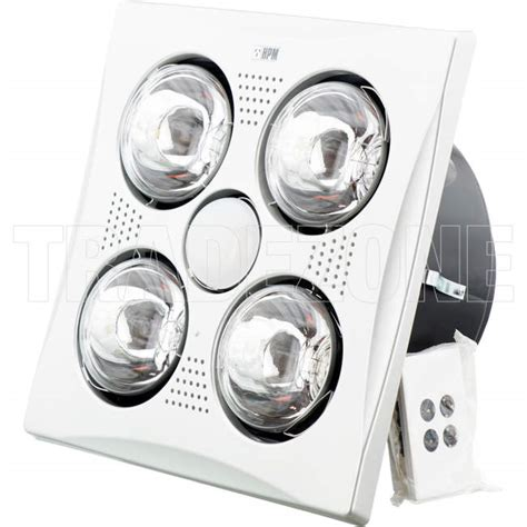 hpm bathroom heater fan light hpm 3 in 1 bathroom heat l light exhaust fan matt