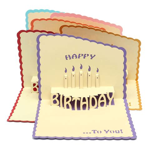 Handcraft Card - other home living handcraft happy birthday 3d greeting