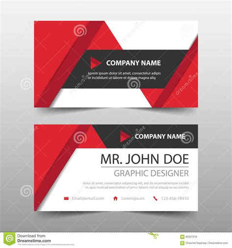 simple name card template template for simple geometric shapes with inner shadow