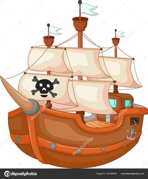 dibujos animados de barcos piratas antiguos fotos de - Dibujos Animados Barcos Piratas