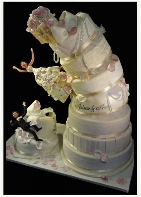 funniest wedding cake toppers thatll   smile