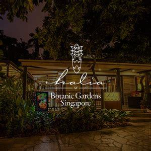 the halia at singapore botanic gardens chope restaurant