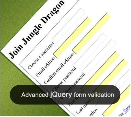 jquery tutorial advanced important tutorials tips and techniques for jquery form