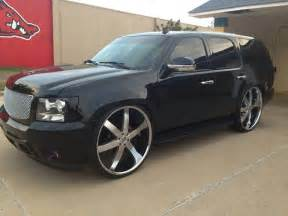 chevy tahoe on 28 s u2 s big rims custom wheels