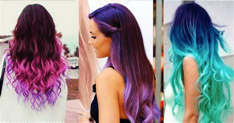 imagenes de pintado de cabello 14 colores de cabello que son tendencia este 2017