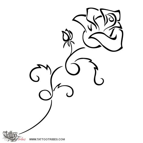 tattoo of blooming rose perfection love tattoo custom