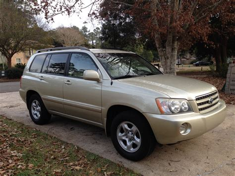 2003 Toyota Kluger 2003 Toyota Highlander Pictures Cargurus
