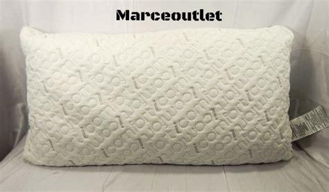 serta icomfort scrunch pillow serta icomfort 2 in 1 scrunch 2 king gel memory foam