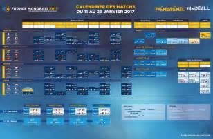 Angola Calendrier 2018 Calendrier Handball 2017