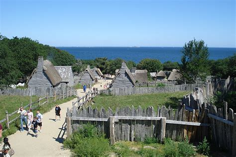 what is of plymouth plantation about foto plymouth plantation massachusetts usa geo