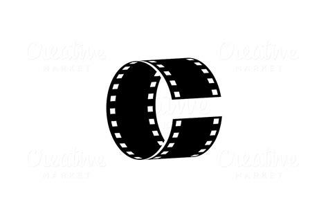 các film c a ghibli letter c cinema vector logo template logo templates