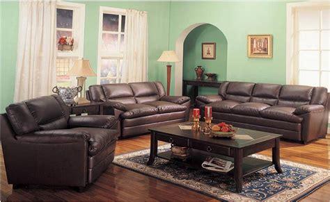 Patio De Autos Sala 3 Piezas Sofa Love Seat Y Sillon En Piel Harper