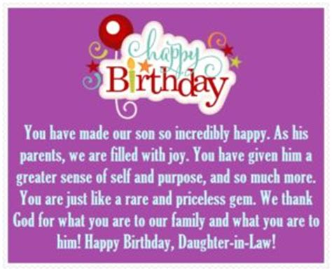 happy birthday daughter in law best birthday wishes for you