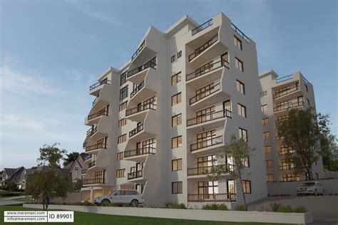 12 flat apartment block id 89901 designs by maramani