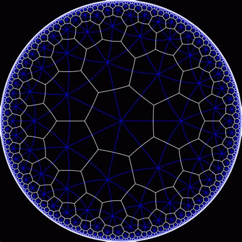 pattern formation hyperbolic plane it s called quot 7 3 quot since it s made of 7 sided figures