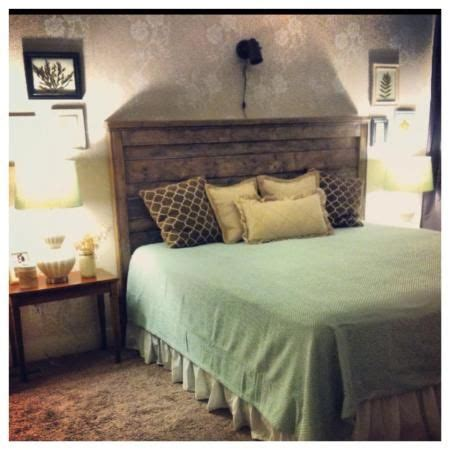 rustic headboard king do it yourself home projects